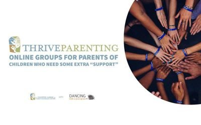 "Online Support Group for Parents of kids who need ""extra supports"" during the coronavirus pandemic"